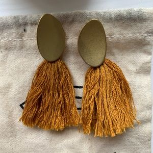 Madewell Fringe Tassel Earrings